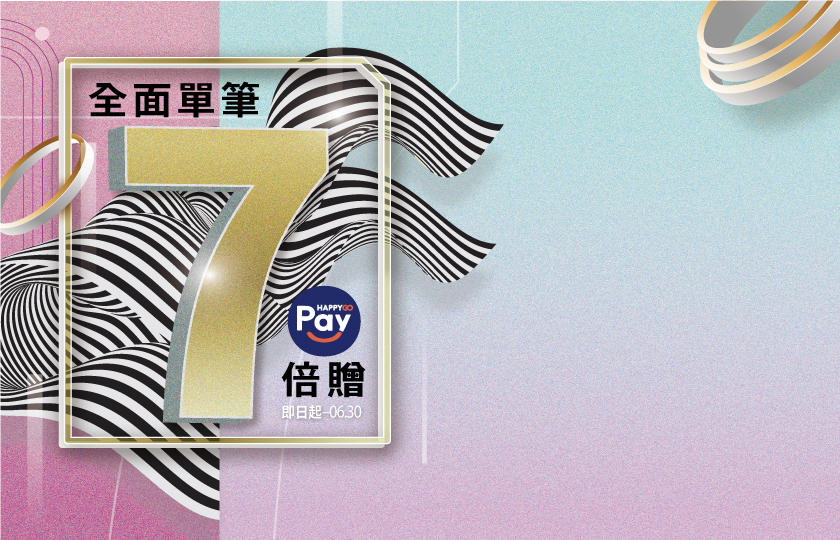 HAPPY GO Pay 優惠攻略!